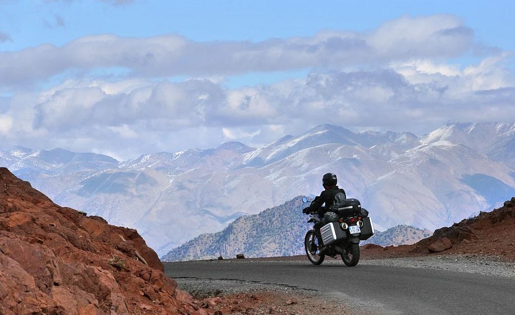 Вождение мотоцикла в горных условиях