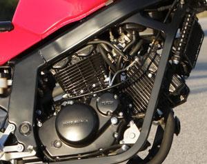 Hyosung GT250 двигатель