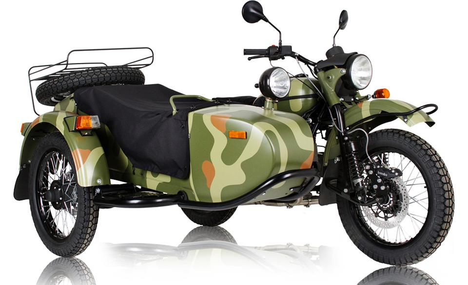 Мотоцикл Урал модели Gear Up