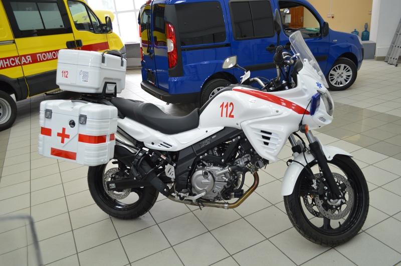Мотоцикл скорой помощи