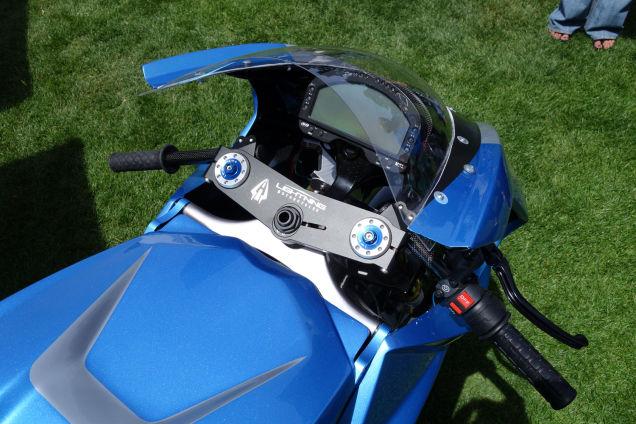 Электромотоцикл Lightning LS-218