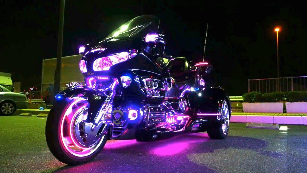 Светодиодный тюнинг мотоцикла