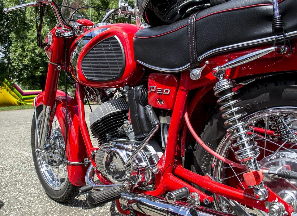 мотоцикл хром