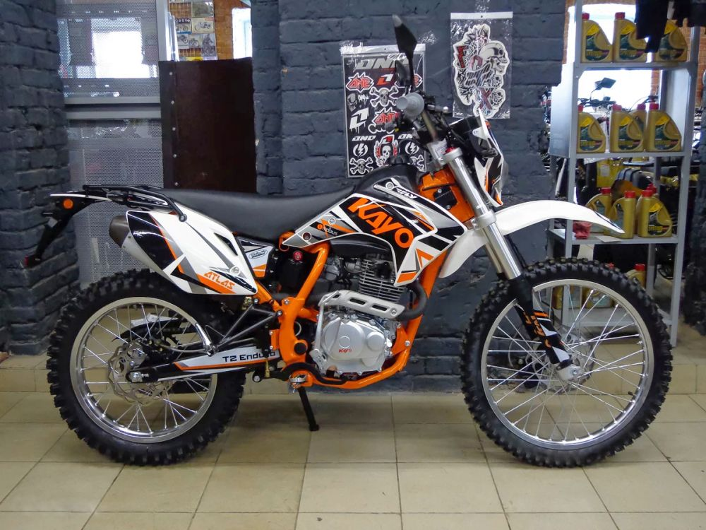 Китайский мотоцикл Kayo 250