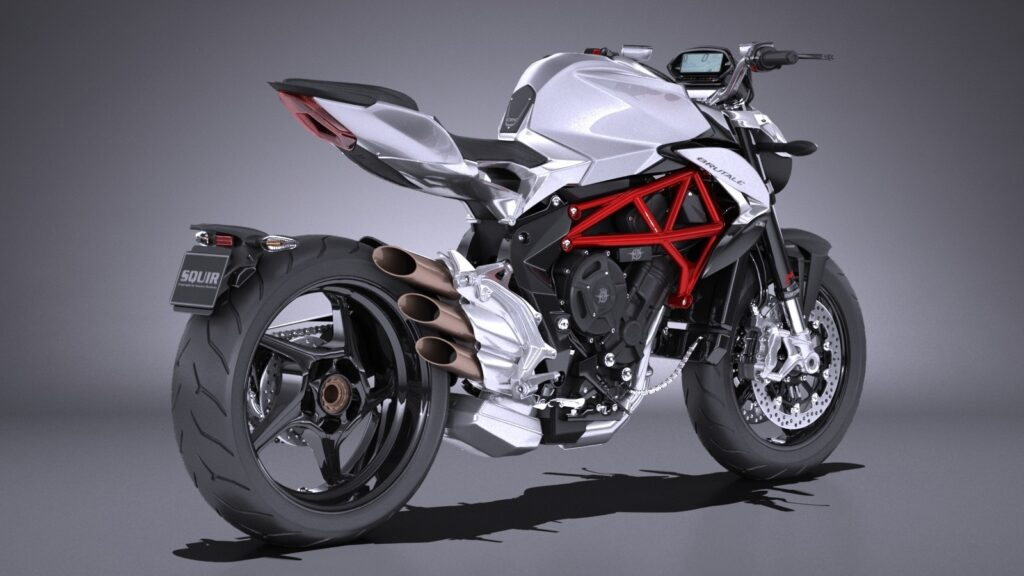 Мотоцикл MV Agusta Brutale 800 Вид справа