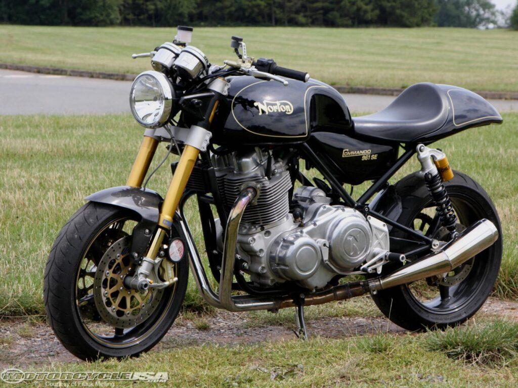 Мотоцикл Нортон